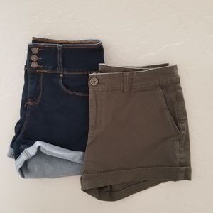 Pants - 2 for $12 Size Large Shorts
